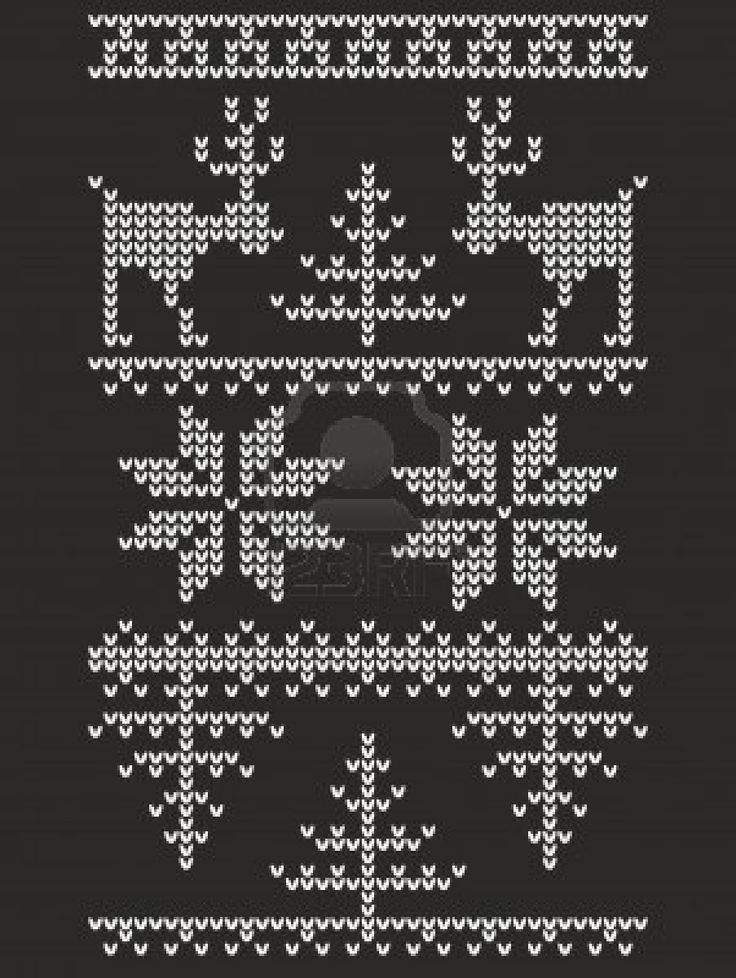 nordic knit. Another possible Christmas tree hexipuff, and the snow flake fits too!