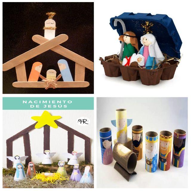 Manualidades navidad nacimiento 640 640 - Trabajos manuales de navidad para ninos ...
