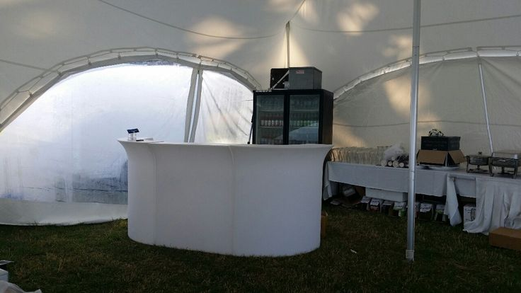 Our Capri Marquee was used for a bar area at Ina's wedding For more info go to topcover.co.nz