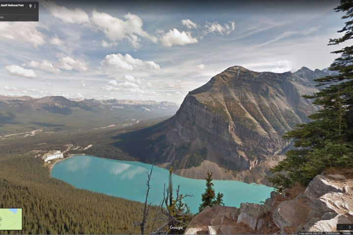 If you can't get out to Canada's national parks, Google has you covered. 167 of Canada's parks can now be viewed as 3D panoramics on the Google street view platform. #EarthDay. Via Google street view.