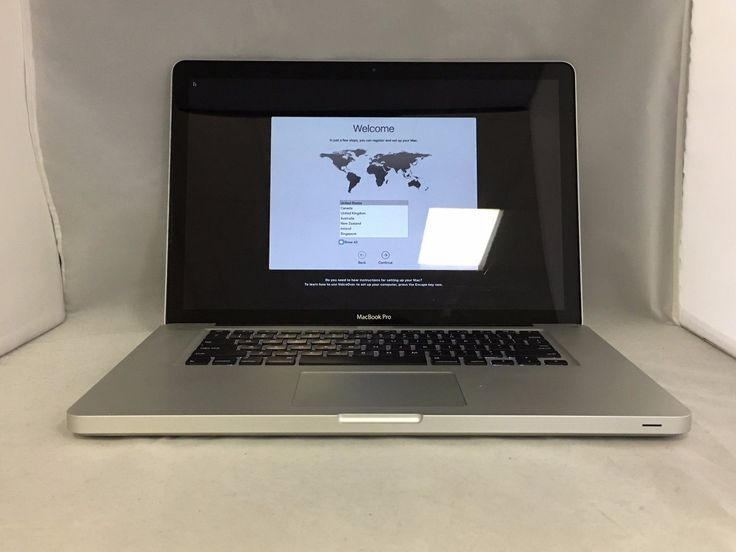 MacBook Pro 15 Late 2011 MD318LL/A 2.2GHz i7 4GB 500GB Good