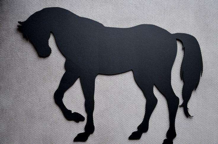 Tablica kredowa koń/ Handmade by PanDekor pandekor.kontakt@gmail.com