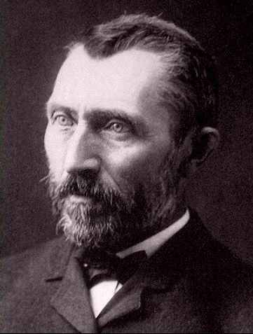 Photograph of Vincent Van Gogh (1853-1890) in Brussels, Belgium by Victor Morin, circa 1886. More