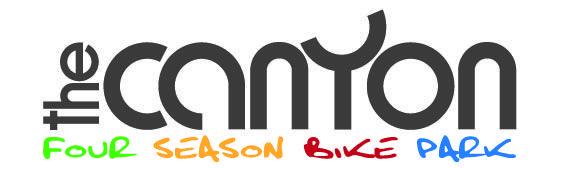 Logotipo per linee di strutture per bike park