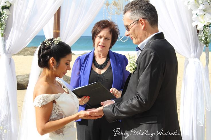 """""""These are the hands of your best friend..."""" Beautiful hands blessing ceremony for Lorena&Jamie.  #breezeweddings #breezeweddingsaustralia #handsblessing #ceremony #wedding #weddingideas #beachceremony #froggybeach #австралия #свадьбававстралии #идеидлясвадьбы #церемониянапляже"""