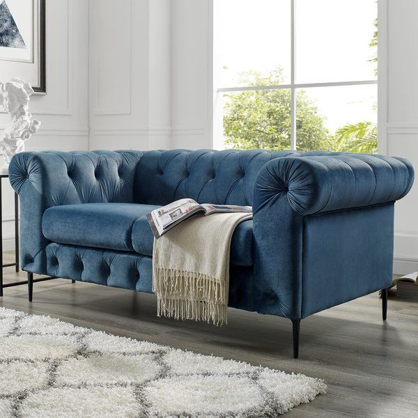 Best Kohl Tufted Chesterfield Sofa Small Living Room Chairs 400 x 300
