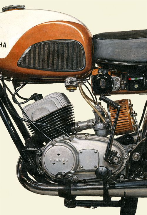 #2101007HQ 1959 YAMAHA 250S (YDS-1) | detail