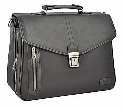 Business Dielle bag with padded pocket for Laptop and Tablet.