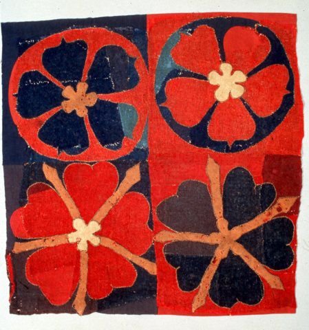 dark-archive:Intarsia textile from the Historiska Museet, Stockholm, Sweden