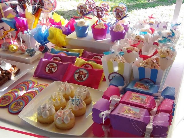 SD Eventos: SOY LUNA PARA LUCY!! Candy Bar Soy Luna Mesa dulce Soy Luna Sweet table Soy Luna Golosinas personalizadas