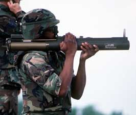Thumbnail picture of the M72 LAW (Light Anti-armor Weapon)