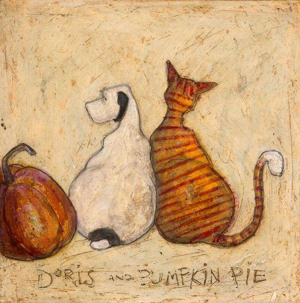 Doris and Pumpkin Pie