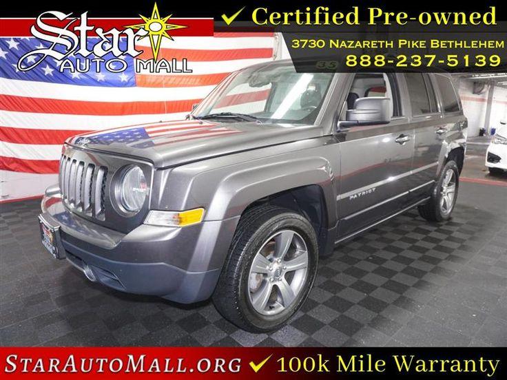 2017 Jeep Patriot High Altitude 4x4 Jeep patriot, Jeep, 4x4