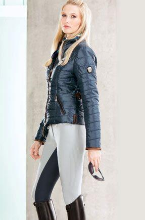 Cavallo Tamara light quilted jacket. Water repellant. Navy, papaya, sand