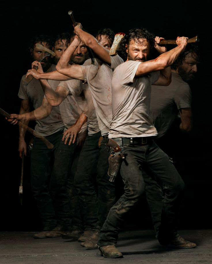 Andrew Lincoln as Rick Grimes, The Walking Dead. Entertainment Weekly Magazine.