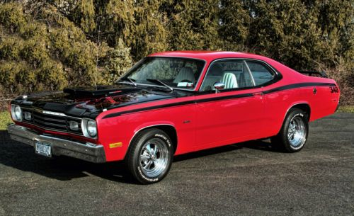 Plymouth Duster 340 H Code Hot Rods Love Those Muscle Cars Pinterest Plymouth And