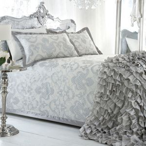 Star by Julien Macdonald Ivory 'Gatsby' bed linen- at Debenhams Mobile
