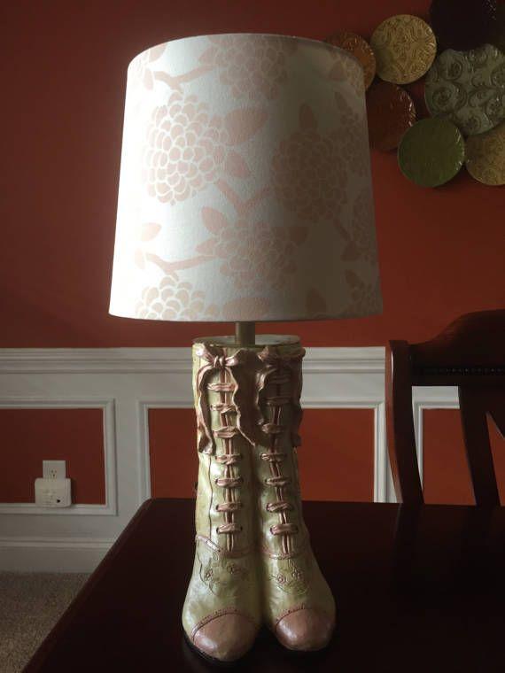Victorian Woman S Boot Lamp Lamp Victorian Victorian Women