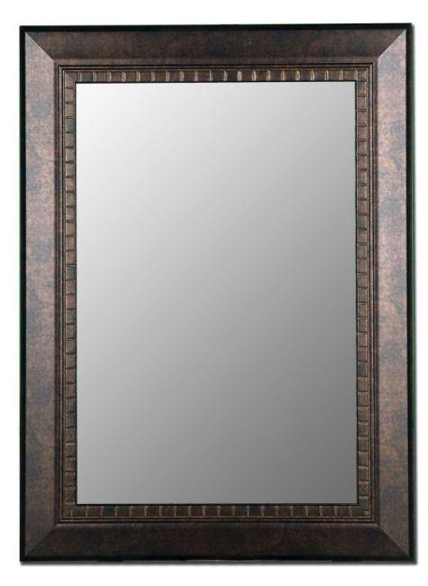 Sanders Antique Copper And Bronze Mirror