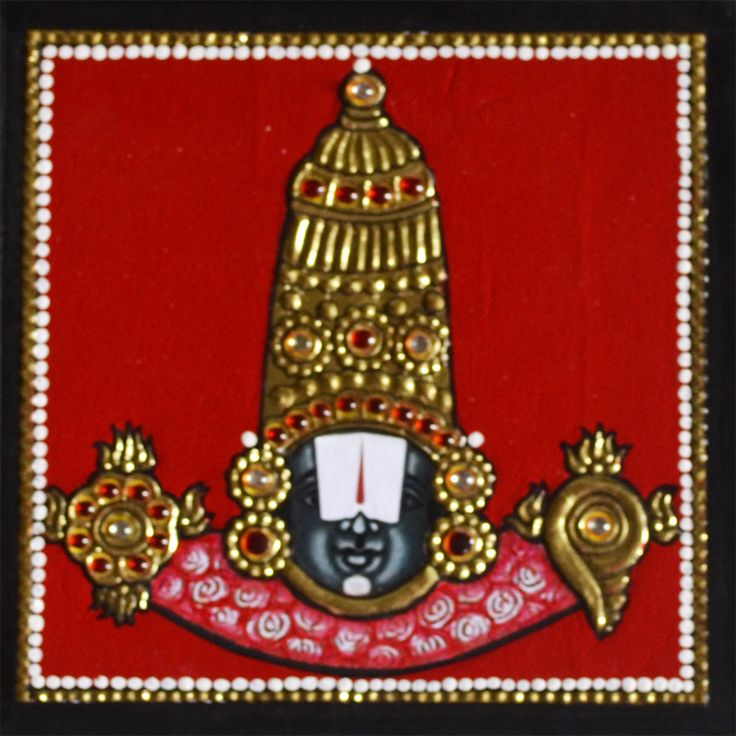 Balaji Tanjore Painting is such an amazing painting to have at home. See more at https://www.madhurya.com/tanjore-paintings/balaji-tanjore-painting-1/balaji-tanjore-painting.html
