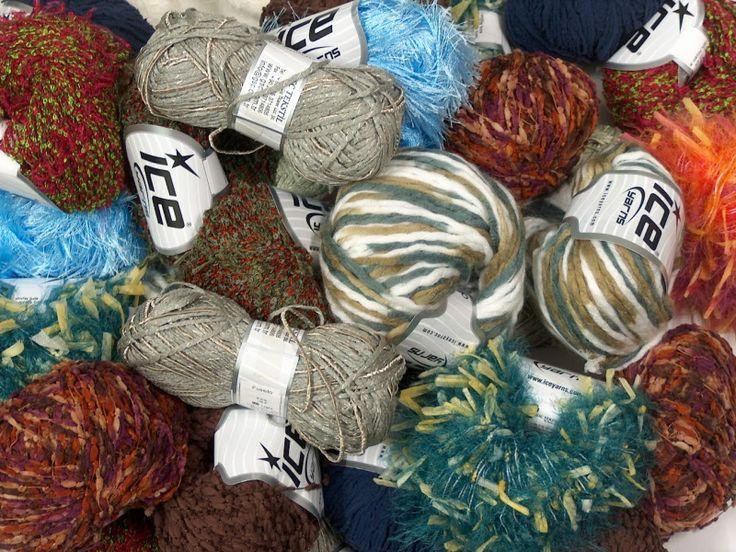 L@@K Mix Selection Fancy Yarns