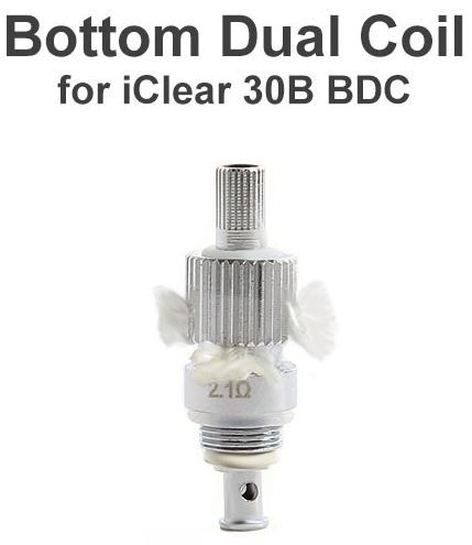 These are replacement dual coil head specifically designed for Innokin iClear30B Dual Coil Clearomizer.