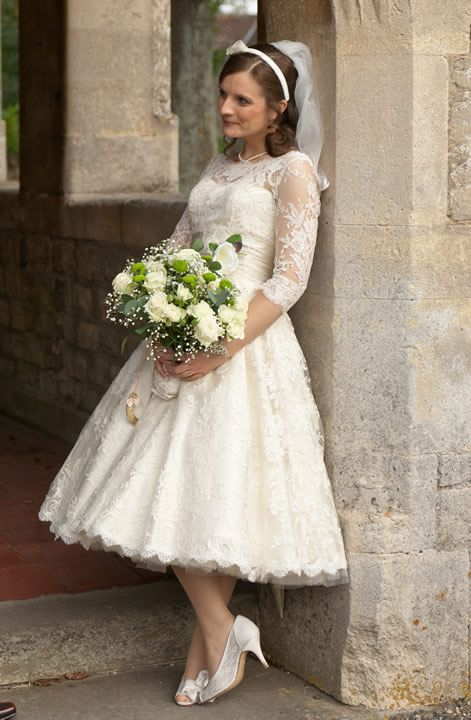 The 25  best 50s style wedding dress ideas on Pinterest | 50s ...