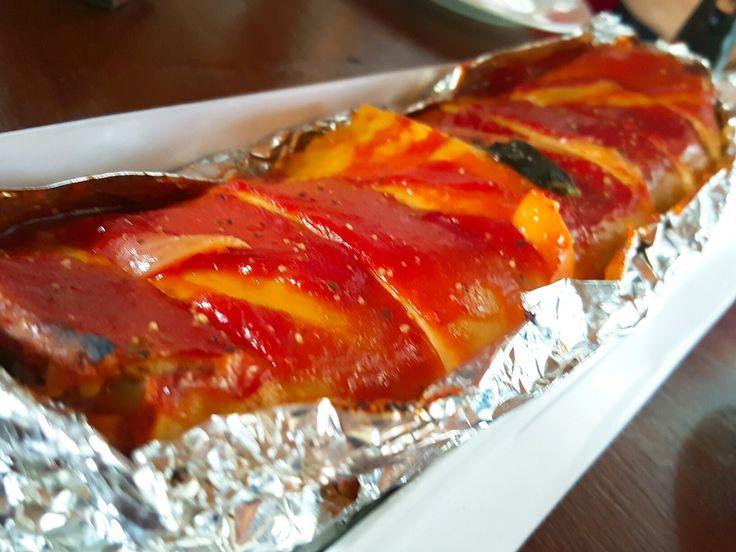 Grilled Lasagna....