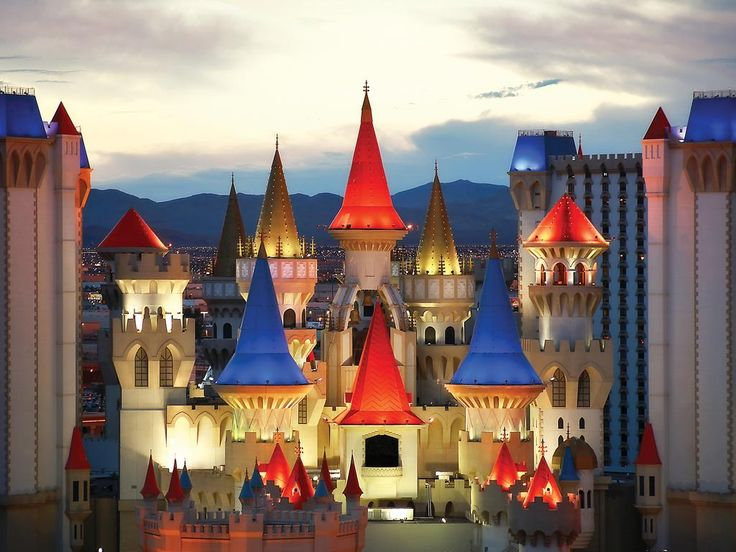 Excalibur Hotel Las Vegas Looking for a Las Vegas hotel that's fun, not fancy? Then you belong in The Castle. Located on the Las Vegas Strip.