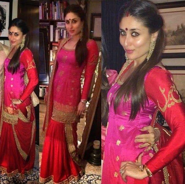 Fashion: Bollywood Celebrities in Designer Lehnega Choli 2014