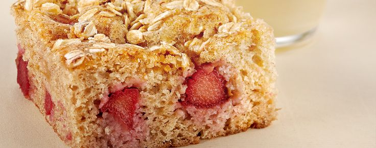 Get ready for those cold winter nights with this delicious apple and rhubarb dessert slice!