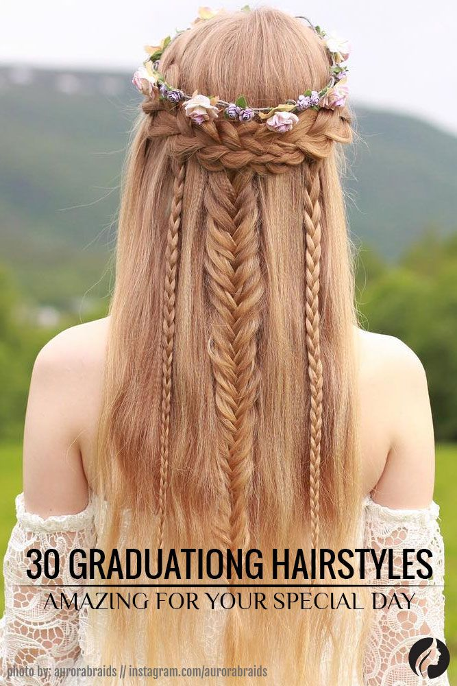 When it comes to graduation hairstyles, limitless imagination allows us to create the most beautiful and memorable hairstyles! We've gathered 30 most gorgeous hairdos for a prom night. ★ See more: http://glaminati.com/amazing-graduation-hairstyles-for-your-special-day/?utm_source=Pinterest&utm_medium=Social&utm_campaign=FI-amazing-graduation-hairstyles-for-your-special-day-26