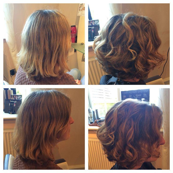 Hair by Lisa at Cherish #cherish #chippenham #tetbury #cirencester #stroud #malmesbury #nailsworth #beauty #beautysalon #hair #hairstyle #beforeandafter #curls #curlyhairdontcare #nails #nailsalon