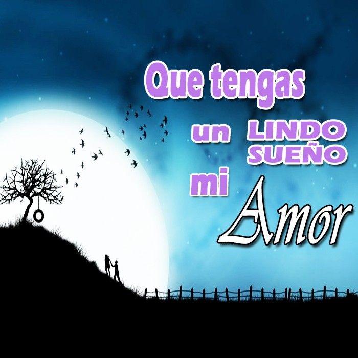 Feliz Noche Amor, que tengas un lindo sueno, te amo!!