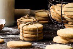 Galletas de mantequilla caseras, las mejor receta de galletas con un sabor especial y una textura sublime que recuerda a las galletas de nuestras abuelas.