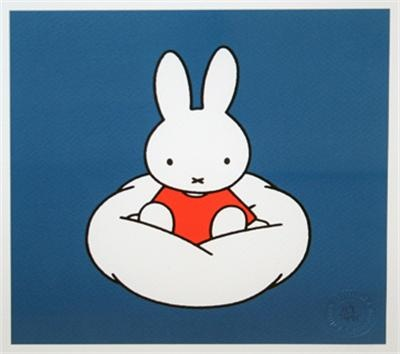 Miffy on a cloud
