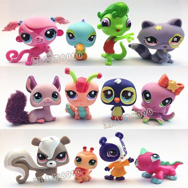 Aliexpress.com : Buy Original Set 14PCS Littlest Pet Shop LPS Cute Figures For Kids Gifts from Reliable figur suppliers on The Children's Home    Alibaba Group