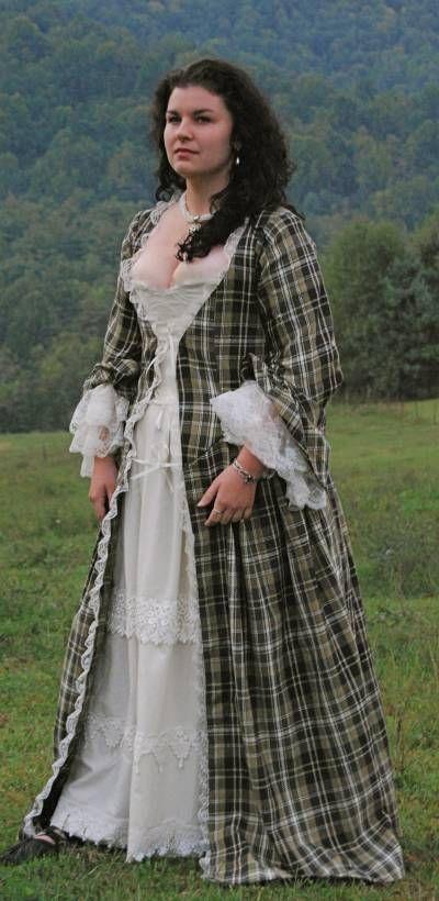 :::: PINTEREST.COM christiancross ::::Wolfstone Orkney Overdress Set #Jacobite #Scottish