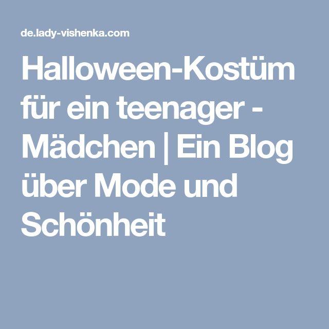Halloween-Kostüm für ein teenager - Mädchen | Ein Blog über Mode und Schönheit