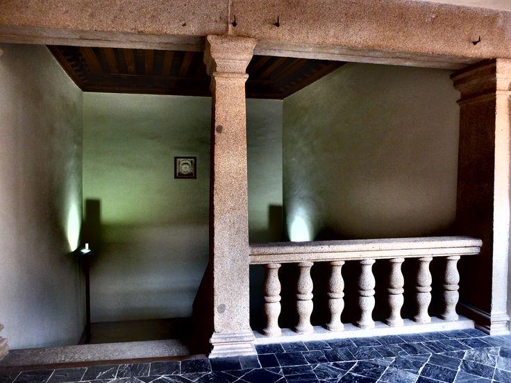Palacio de los Superunda. Balaustrada de primer piso