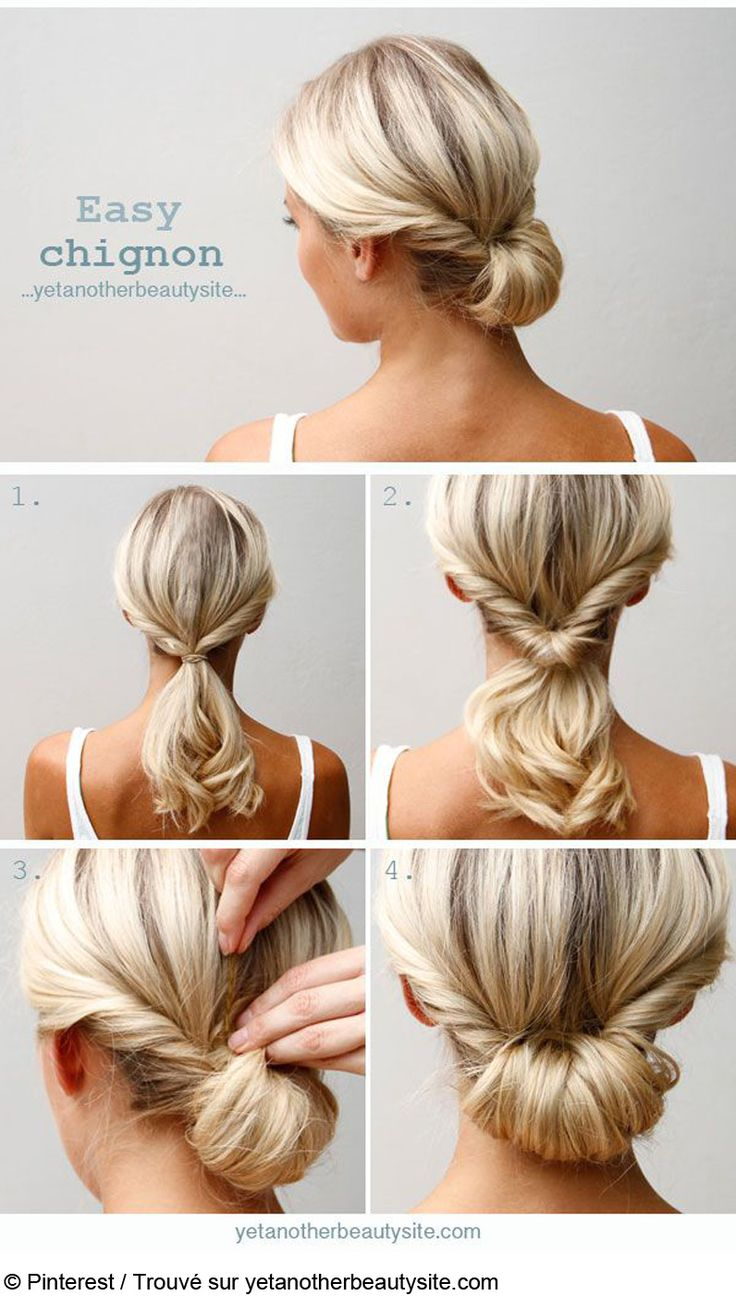 1000 Ideas About Coiffure Cheveux Long Facile On Pinterest