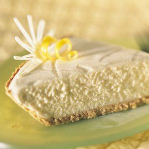 White Chocolate Lemon Icebox Pie.... I know a sweet little lady that would love this :)