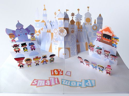 It's a Small World Pop-Up, Jackie Huang. Do Want!