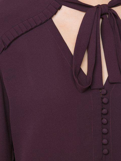 Купить Yigal Azrouel блузка с рюшами.