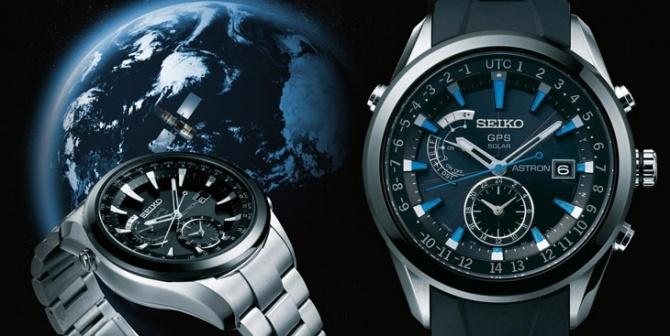 Seiko Astron, el reloj solar con GPS que cambia de zona horaria automáticamente.