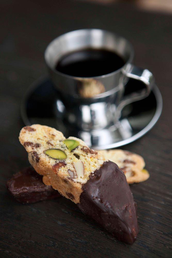 -Chokladbiscotti med apelsin- Orange-Chocolate Biscotti