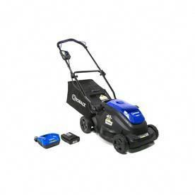 Kobalt 40 Volt Lithium Ion 16 In Cordless Electric Lawn Mower Battery Included Lithium Battery Scooters Lawn Mower Battery Lawn Mower Lawn
