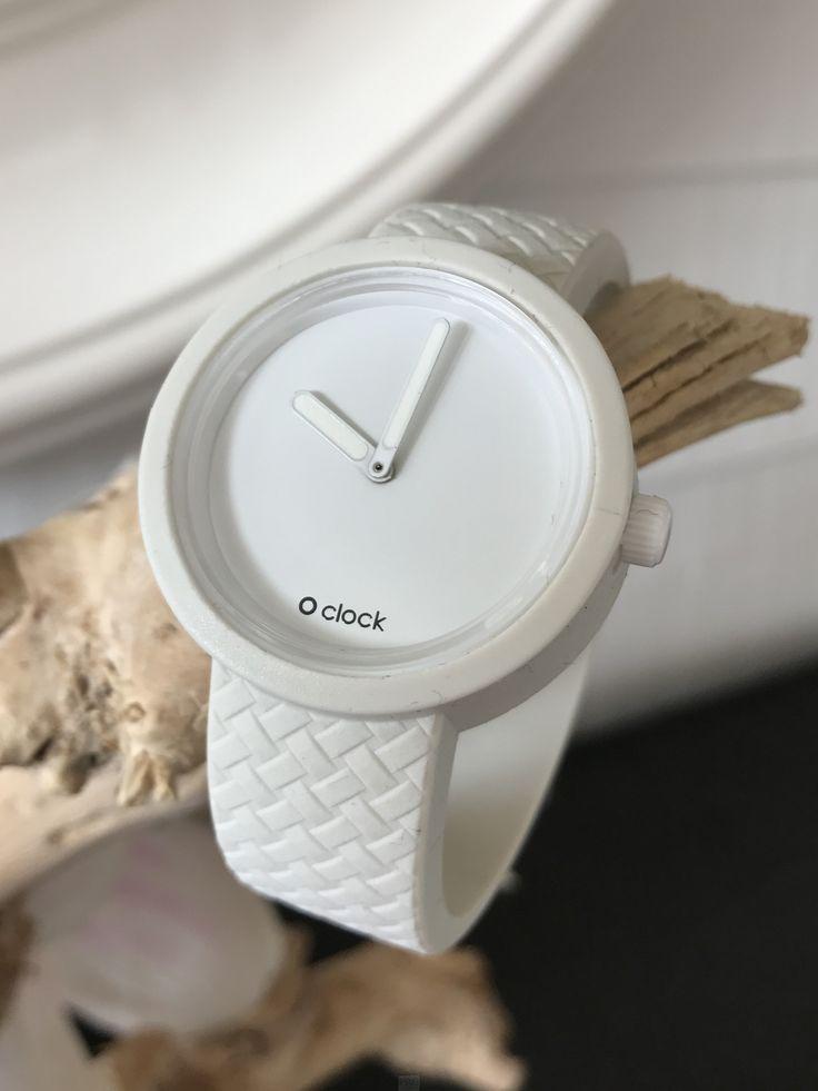 O Clock - Wicker Bianco White Wit Strap - O Clock Classic Bianco White Wit