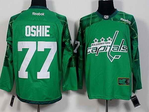 ... Red Stitched NHL Jersey Washington Capitals 8 Alex Ovechkin Green 2016  St. Patricks Day Hockey Jersey cheap selling NHL ... 6a02de328