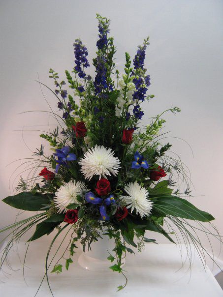 Best funeral flower arrangements ideas on pinterest